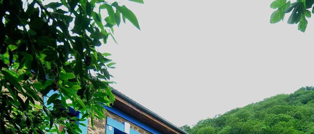 La casa para albergar un complejo turístico, ya rehabilitada.