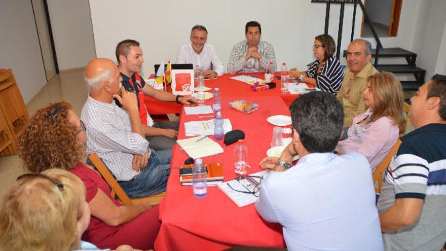 """Torres: """"El programa de PSOE no tiene nada que ver con el de CC en Telde"""""""