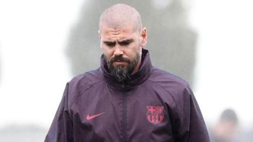 Víctor Valdés, destituït com a tècnic del juvenil del Barça