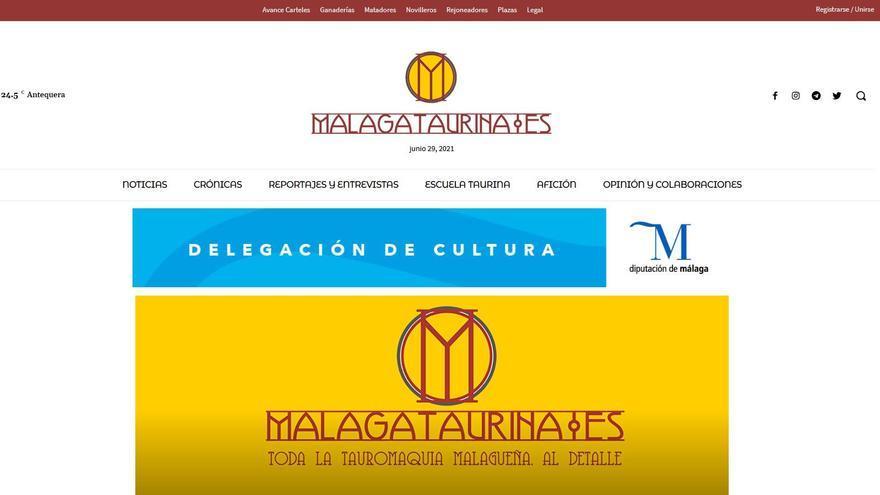 Nace «Málaga Taurina», la web que profundizará en el día a día del mundo del toro en la provincia