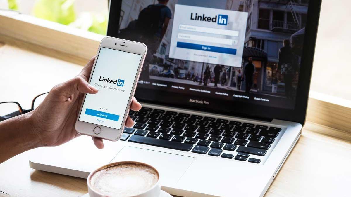 LinkedIn, the social network focused on companies.