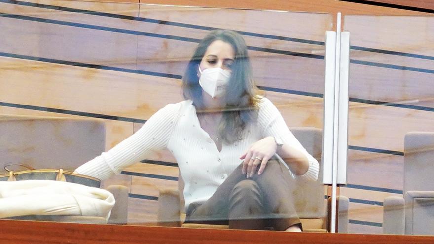"""María Montero: """"No estaba cómoda en Ciudadanos, ni con la decisión del partido de votar no a la moción de censura"""""""
