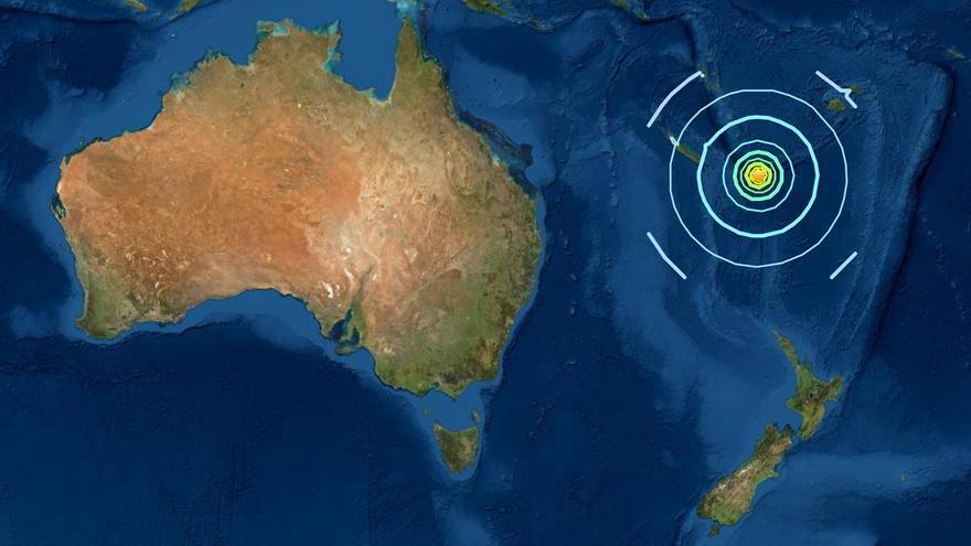 Alerta de tsunami en el Pacífico Sur tras una cadena de terremotos