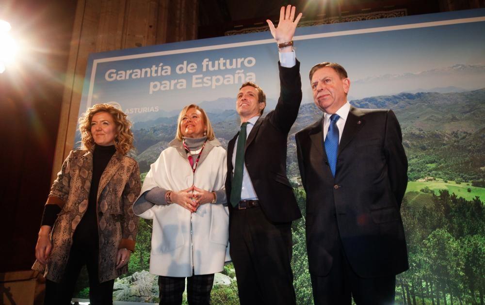 Pablo Casado  acude a Oviedo para presentar a los candidatos del PP en Asturias