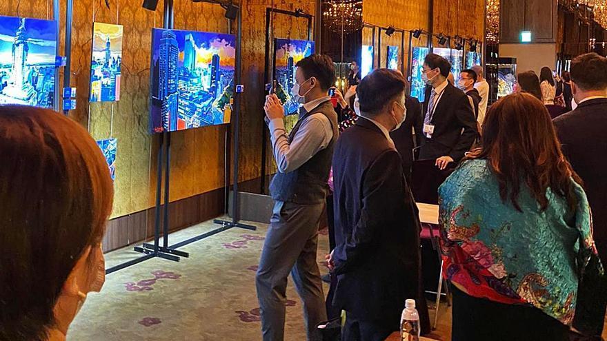 La pintura arquitectónica de Josep Francés triunfa en Asia