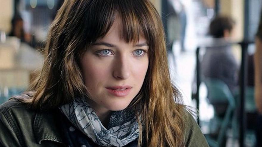 Esta es la escena favorita de Dakota Johnson en 'Cincuenta Sombras de Grey'