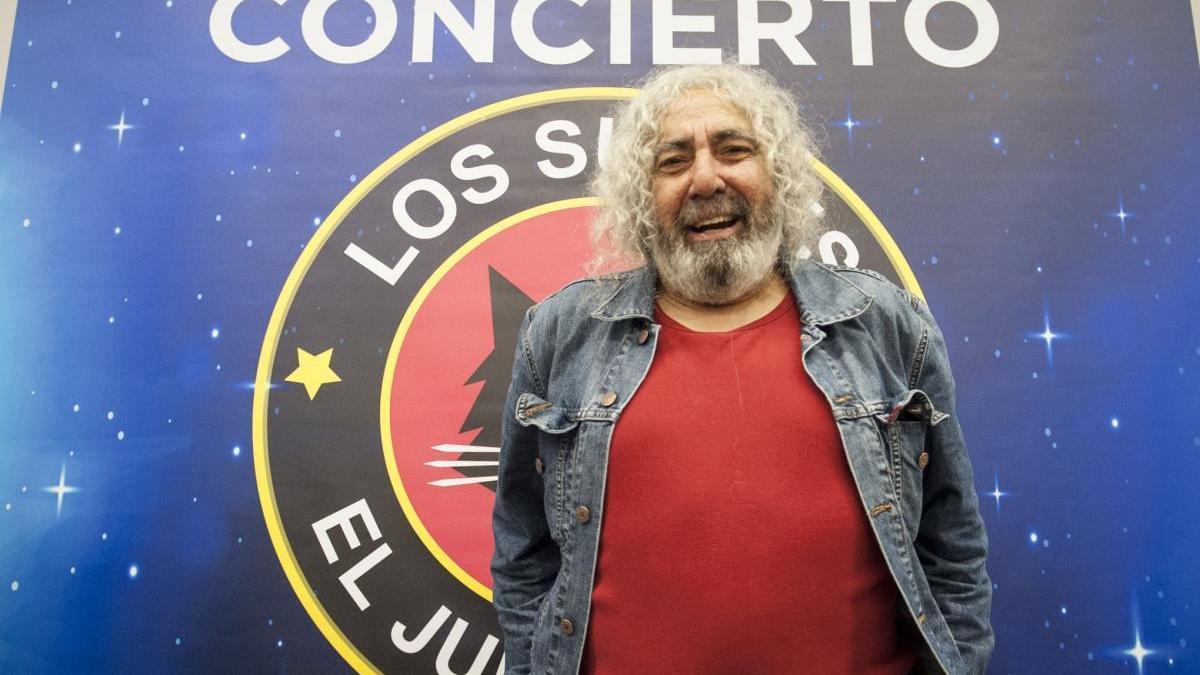 'Yosi' Domínguez, líder de Los Suaves. // Brais Lorenzo