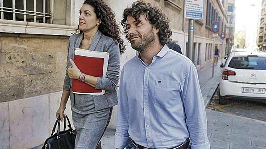 Jaume Garau mandó al Govern correos en favor de una consultora ajena