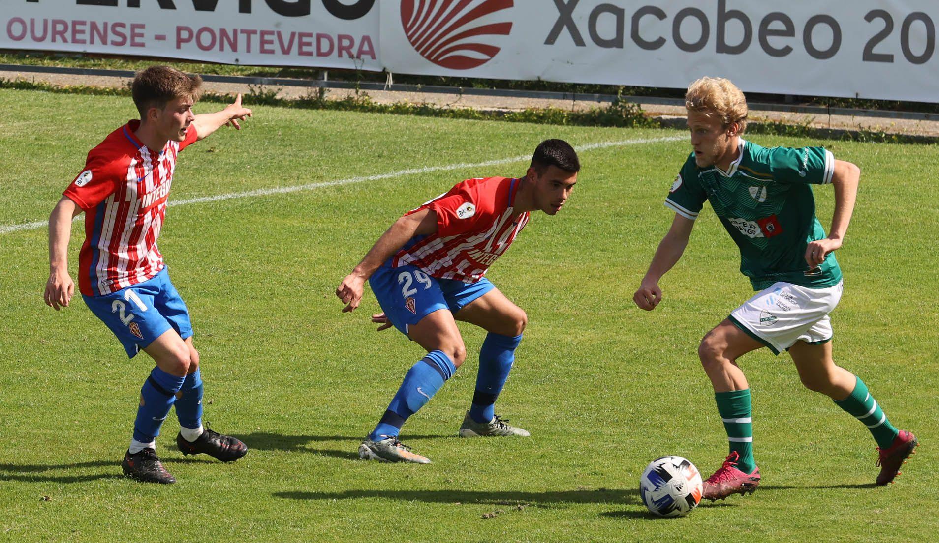 Partido Coruxo - Sporting Gijón B