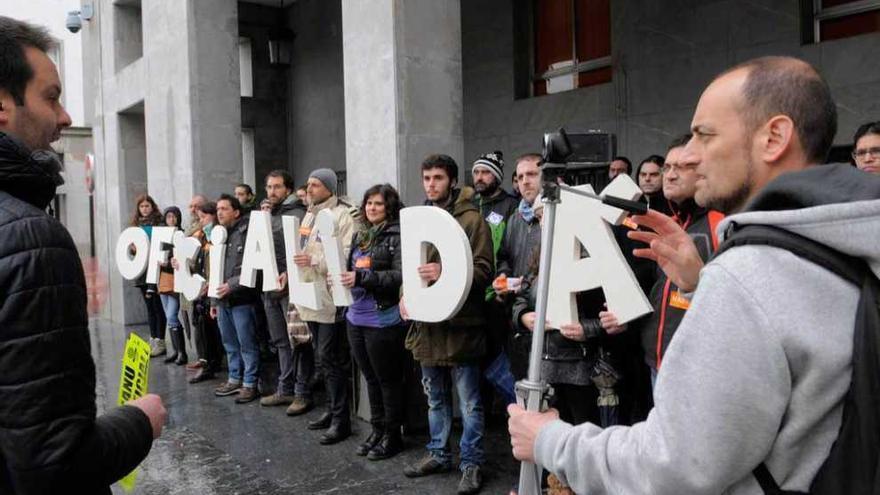 La especialidad docente de Asturiano, a debate mañana en el Congreso