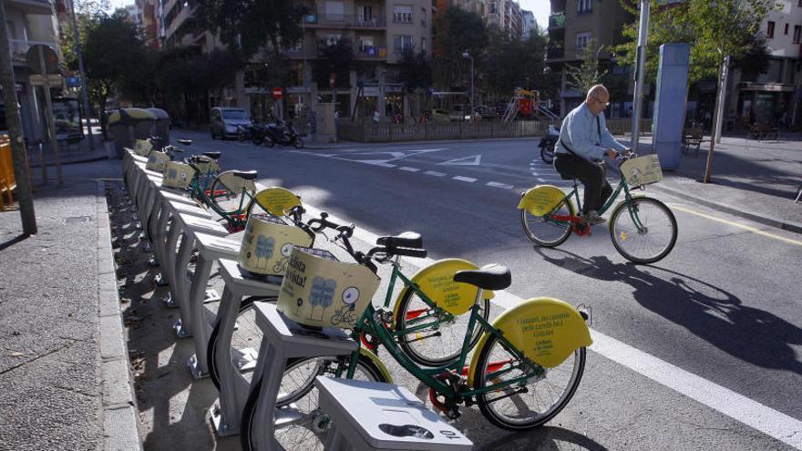 L'ús dels autobusos a Girona cau un 92% i el de la Girocleta un 97%