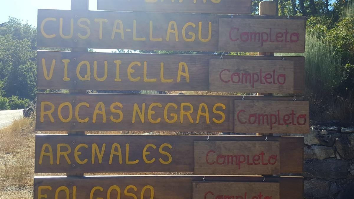 """Información de """"completo"""" en las playas del Lago de Sanabria"""
