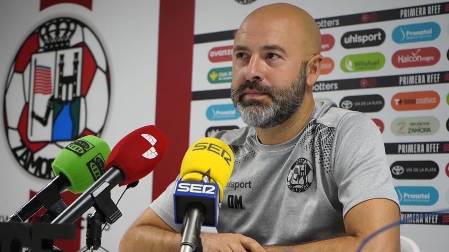 """David Movilla: """"SI hay algún responsable de que el Zamora CF lleve cuatro puntos, soy yo"""""""