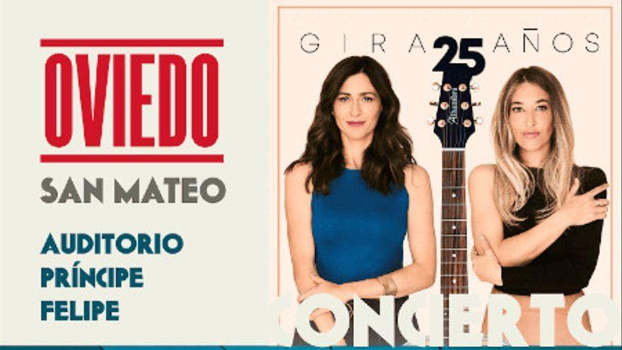 """San Mateo 2021:  Marta y Marilia de """"Ella Baila Sola"""", presentan su concierto en Oviedo"""