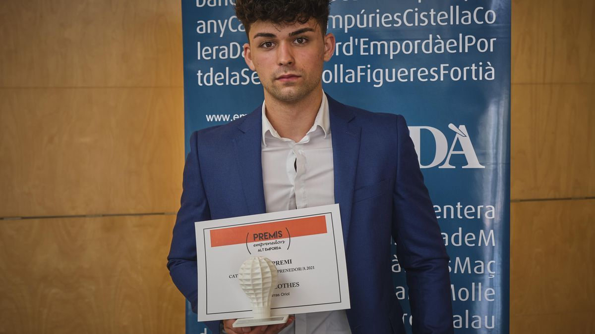Isaac Parras ha finalitzat 2n de Batxillerat, té 18 anys i és de Roses