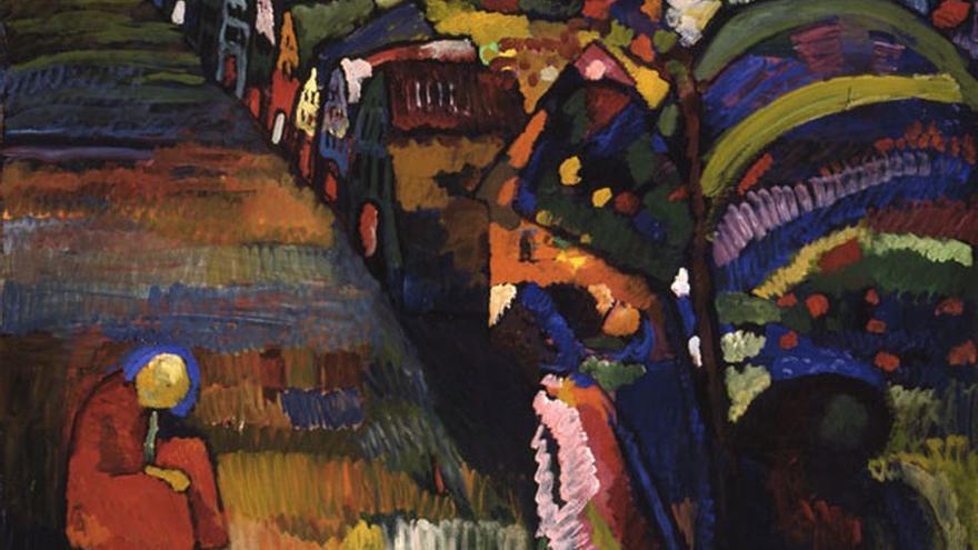 Ámsterdam devolverá un Kandinsky a la familia de un judío que huyó de los nazis