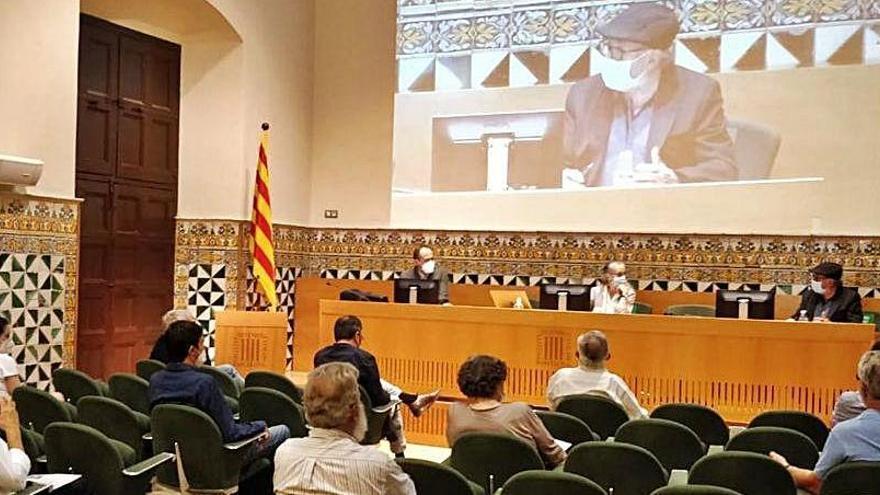 Josep Maria Mata, homenatjat per la seva tasca