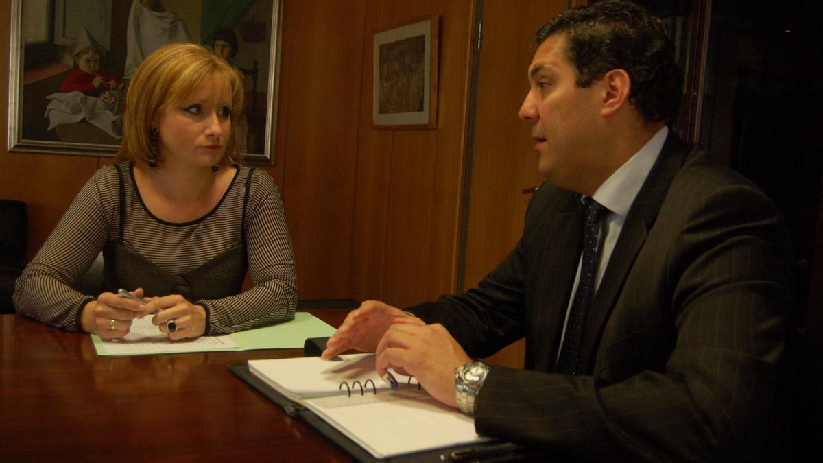 Leticia García y Alberto Castro, procuradores del Partido Popular por Zamora.