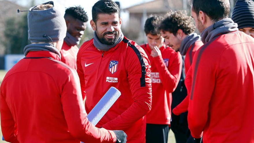 Diego Costa se cae de la lista de Simeone para medirse a la UD
