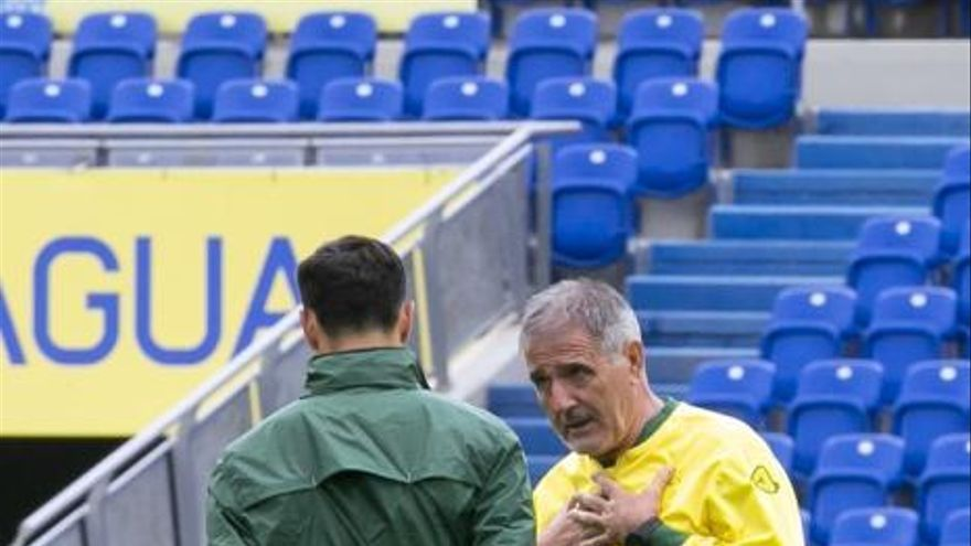 Entrenamiento de la UD Las Palmas (19/01/19)