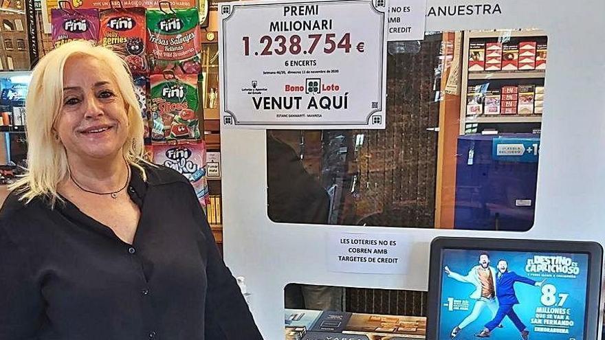 El sorteig de la Bonoloto deixa a Manresa un premi d'1,2 milios d'euros