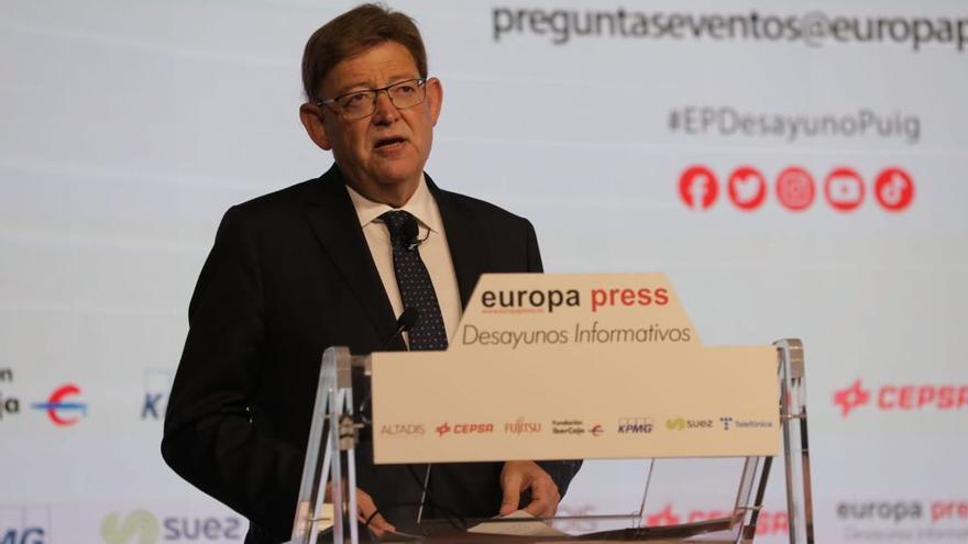 Puig presenta a Madrid una esmena general per a una nova Espanya
