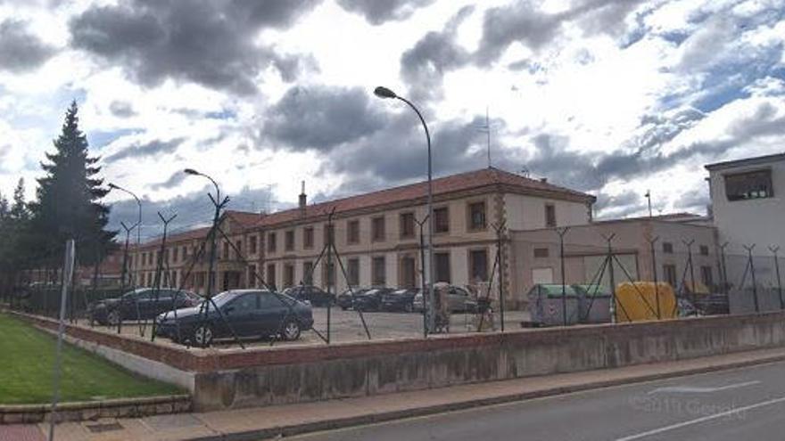 Un preso intenta fugarse de la cárcel de Soria trepando por los canalones