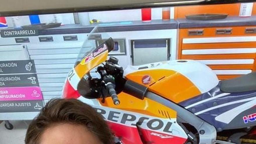 Victòria virtual per Àlex Márquez a MotoGP
