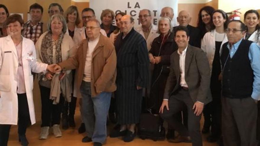 Documental y coloquio sobre la enfermedad pulmonar obstructiva en el Hospital de Sant Joan