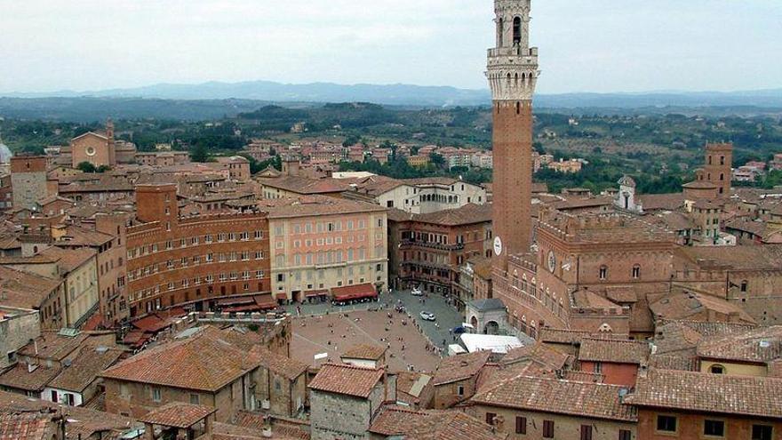 Siena, el balcón medieval