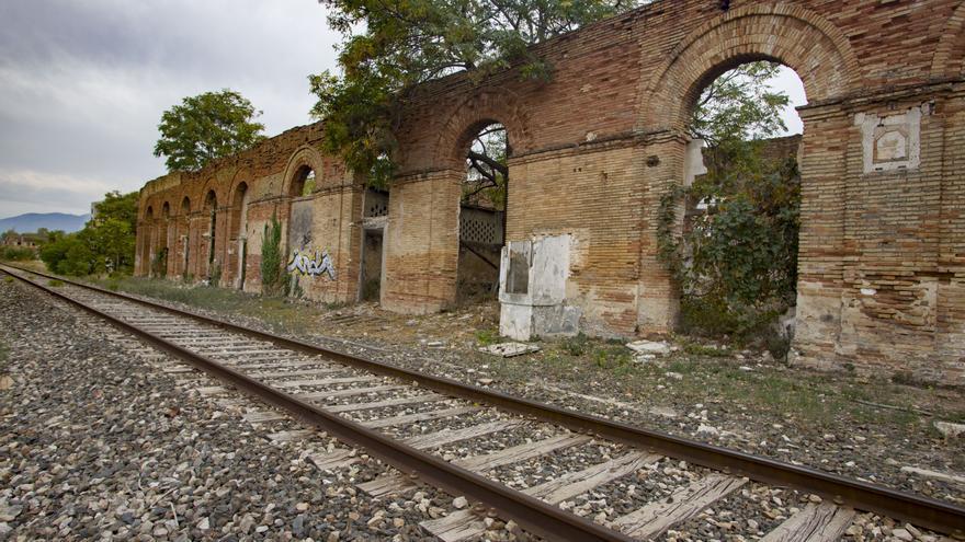 La vieja estación es candidata a albergar el museo del papel