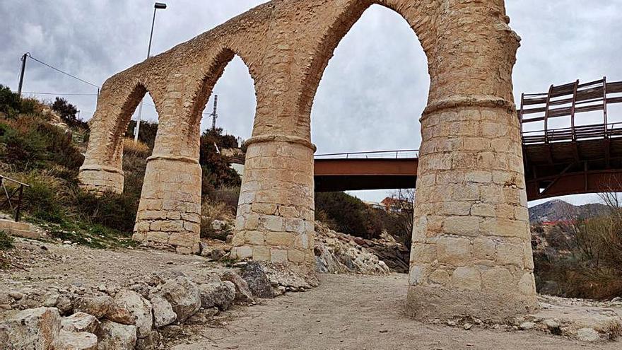 Petrer estudia crear en la rambla de Puça una ruta del patrimonio hidráulico