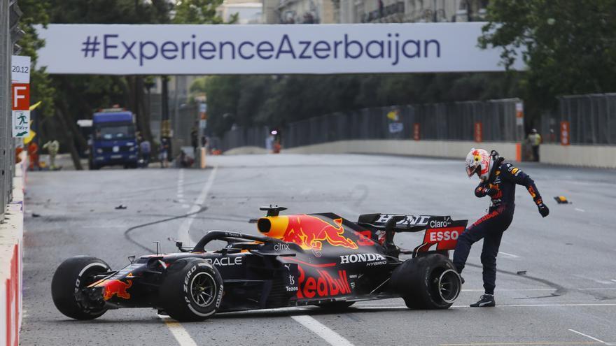 Resultados y clasificación tras el Gran Premio de Azerbaiyán de Fórmula 1