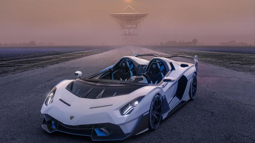 Lamborghini SC20, un descapotable de ensueño