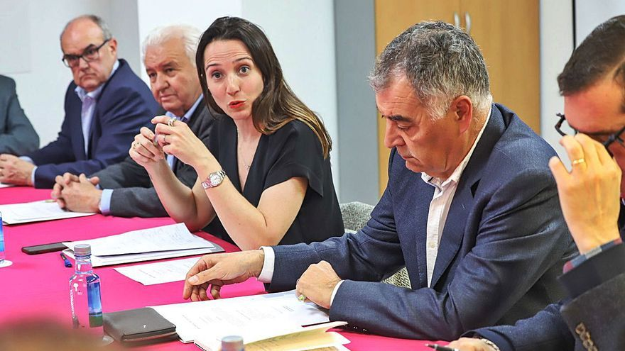 Ana Berenguer y Ángel Franco tienden  puentes de cara a las próximas municipales