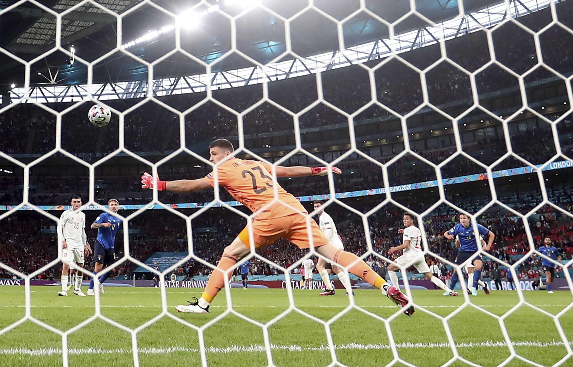 Las imágenes más espectaculares del España- Italia de la Eurocopa 2021