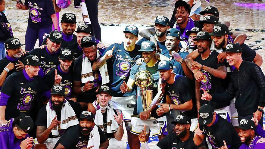 Los Lakers conquistan el anillo más especial