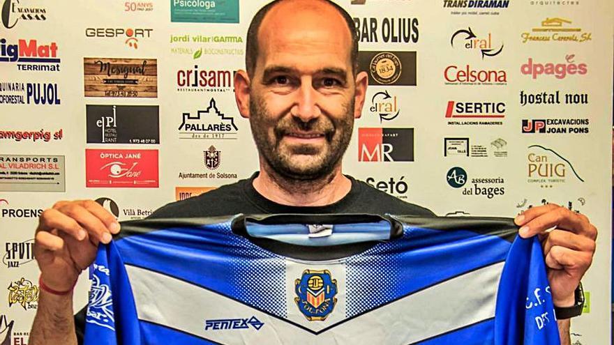 Dimissió de l'entrenador del CF Solsona per discrepàncies amb el president del club