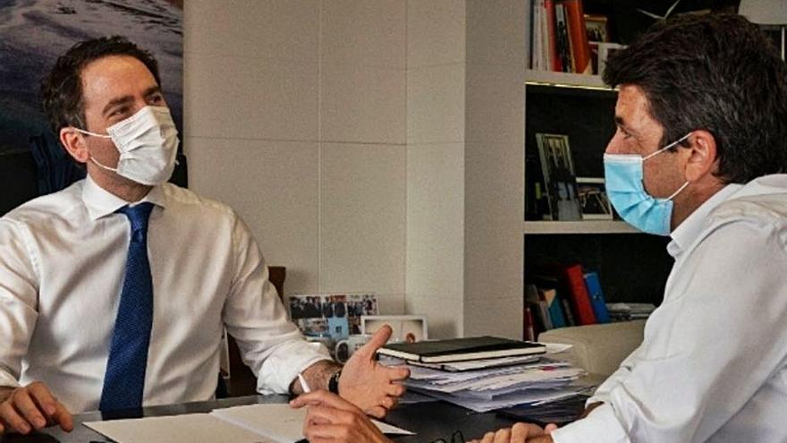 García Egea asistirá a la junta del PP provincial en la que se consumará el relevo de Carlos Mazón