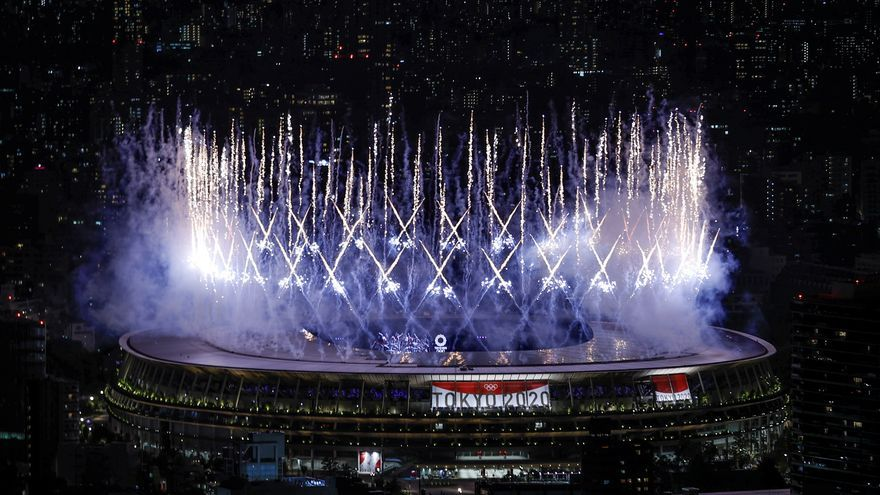 Así ha sido la ceremonia de apertura de los Juegos Olímpicos de Tokio 2020