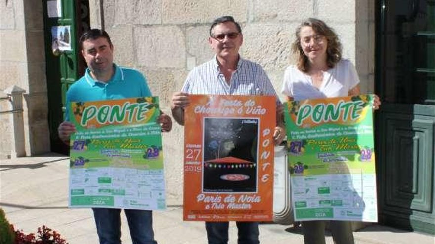 París de Noia amenizará la décima edición de la Festa do Chourizo de Ponte