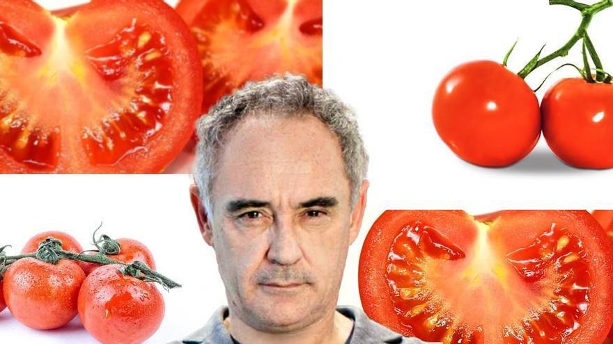 Ferran Adrià divulgarà en un llibre l'evolució i les varietats de la tomata