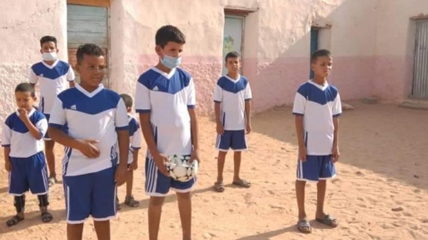 Aragón traslada a Tinduf el apoyo a los niños saharauis
