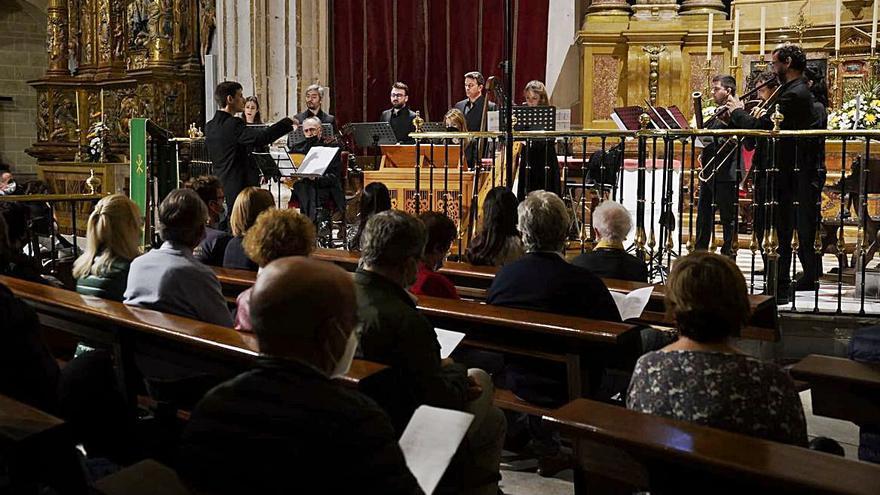 De la Cruz Brocarte vuelve a sonar en la Catedral de Zamora