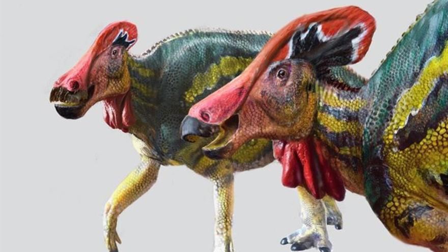 El dinosaurio locuaz que gritaba para ahuyentar a sus depredadores