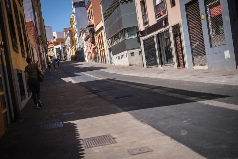 Obras en la calle Herradores