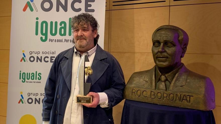 El figuerenc Quim Martínez guanya el premi de prosa Roc Boronat de l'ONCE