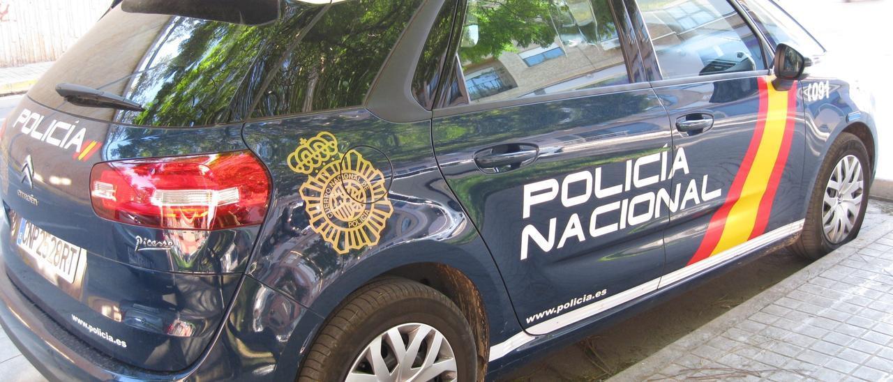 Imagen de archivo de un coche de la Policía.