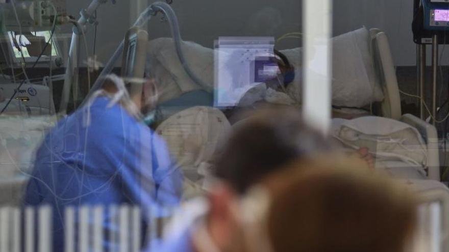 Asturias registra la tasa más alta de ingresos por covid en 24 horas de la tercera ola