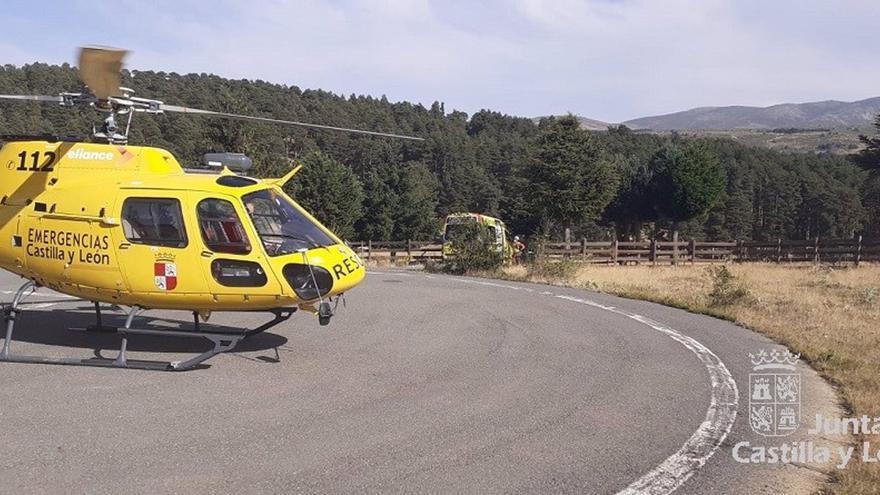 Rescatado el cuerpo sin vida de un montañero fallecido en el monte Curavacas, en Triollo (Palencia)